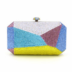 New brand Prom party women elegant day Clutch Geometric design wallet novelty lady diamond casual evening bag sale-Dollar Bargains Online Shopping Australia