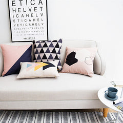 elk pattern Cushions Home Decor alphabet Chair Cushion Nordic style geometric Cushions For Sofas-Dollar Bargains Online Shopping Australia