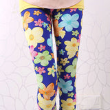 High Quality Girls Leggings Children Pants Print Flower Kids Girls Pants-Dollar Bargains Online Shopping Australia