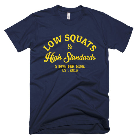 Low Squats Navy (Men)