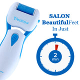 PediKlear Callus Remover Electronic Foot File (With One Free Roller)