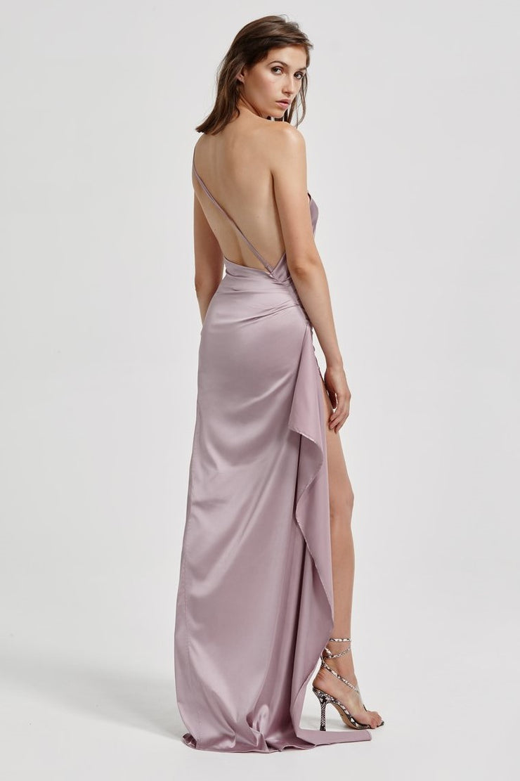 Samira Dress - Mauve - SHOPJAUS - JAUS