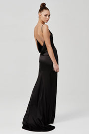 Gabrielle Dress - Black - SHOPJAUS - JAUS