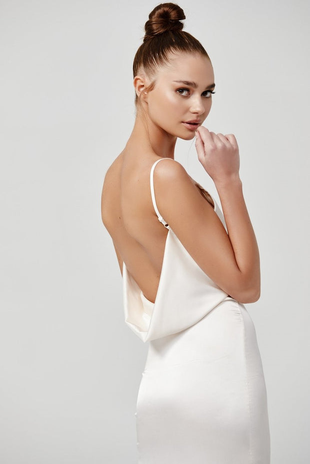 Gabrielle Dress - Ivory - SHOPJAUS - JAUS