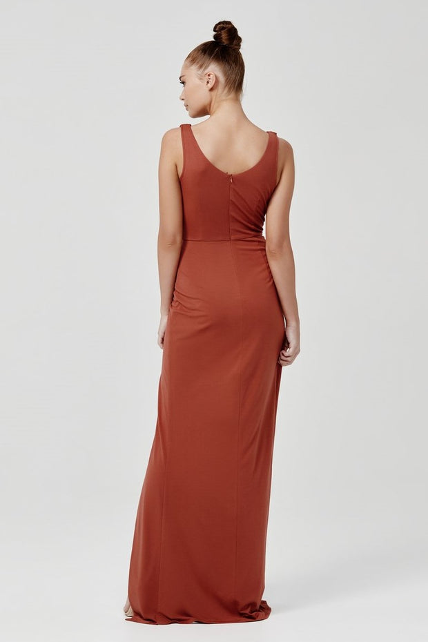 Naida Dress - Terracotta - SHOPJAUS - JAUS