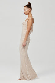 Esperanza Dress - White/Nude - SHOPJAUS - JAUS