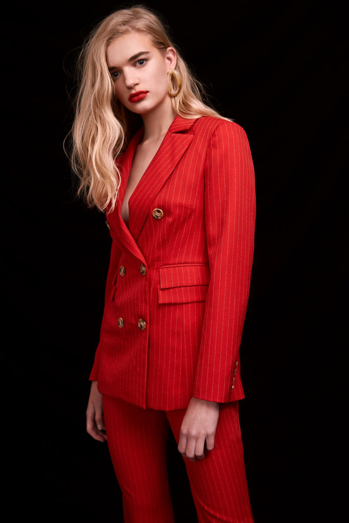 C/MEO Go From Here Blazer - Red - SHOPJAUS - JAUS