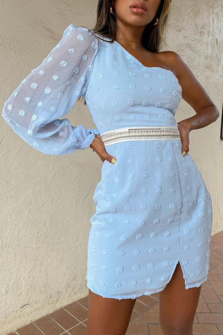 Alira Mini Dress - Sky Blue