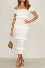 Sahara Dress - White - SHOPJAUS - JAUS
