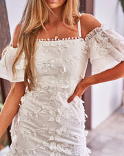 Beatrice Dress - White - SHOPJAUS - JAUS