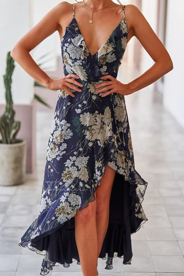 Reese Dress - Navy - SHOPJAUS - JAUS