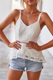 Valencia Top - White - SHOPJAUS - JAUS
