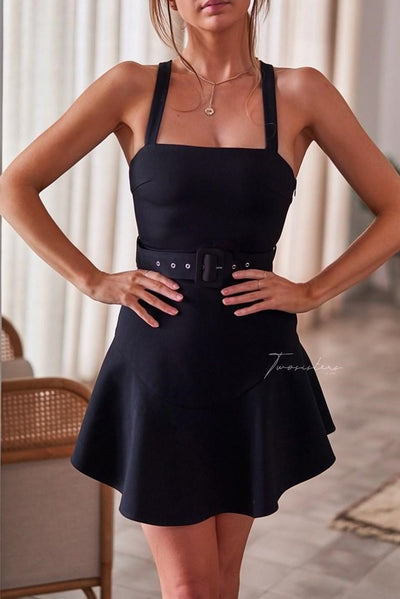 Rachel Dress - Black - SHOPJAUS - JAUS