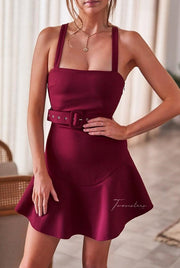 Rachel Dress - Burgundy - SHOPJAUS - JAUS