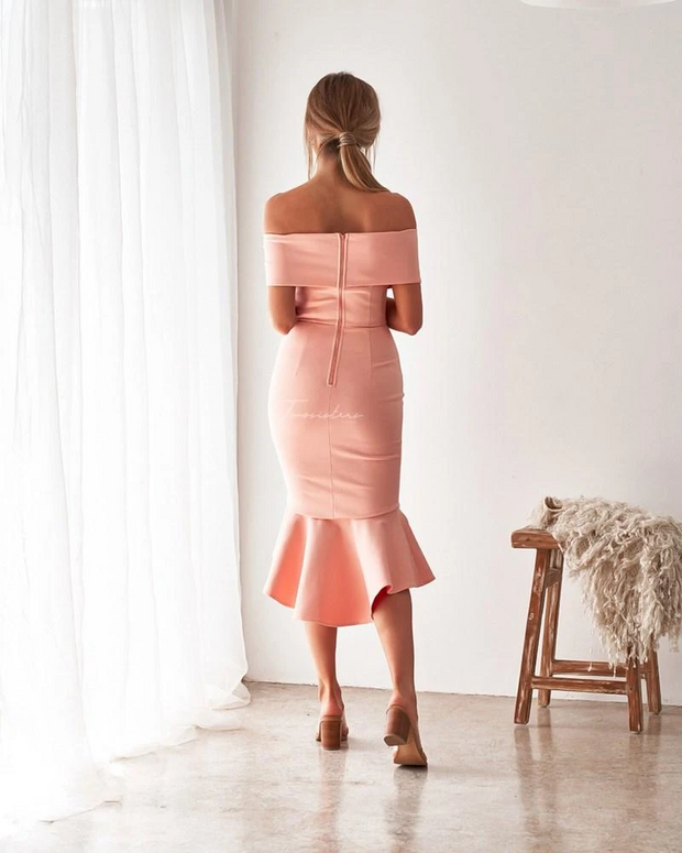 Brienne Dress - Blush - SHOPJAUS - JAUS