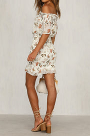 Freya Dress - Beige - SHOPJAUS - JAUS