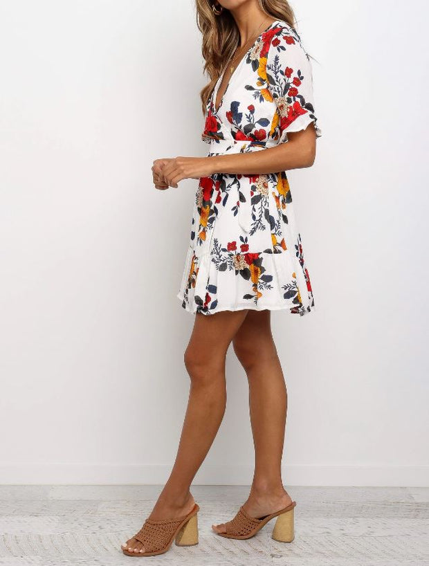 Iris Mini Dress - SHOPJAUS - JAUS