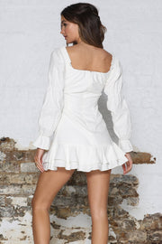 Lottey Dress - White