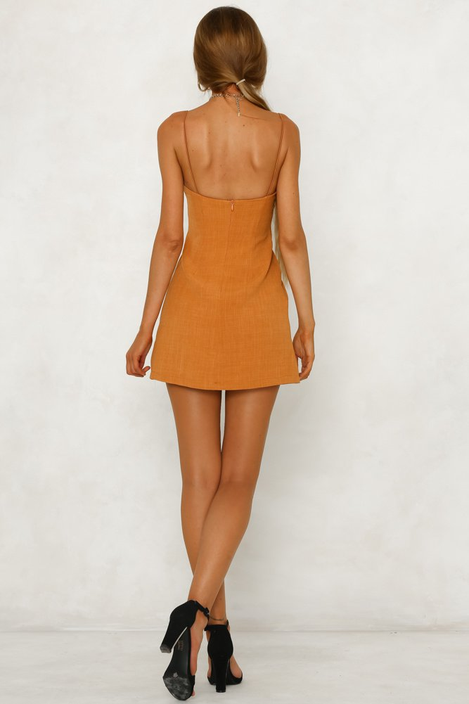Sloane Mini Dress - Sunset