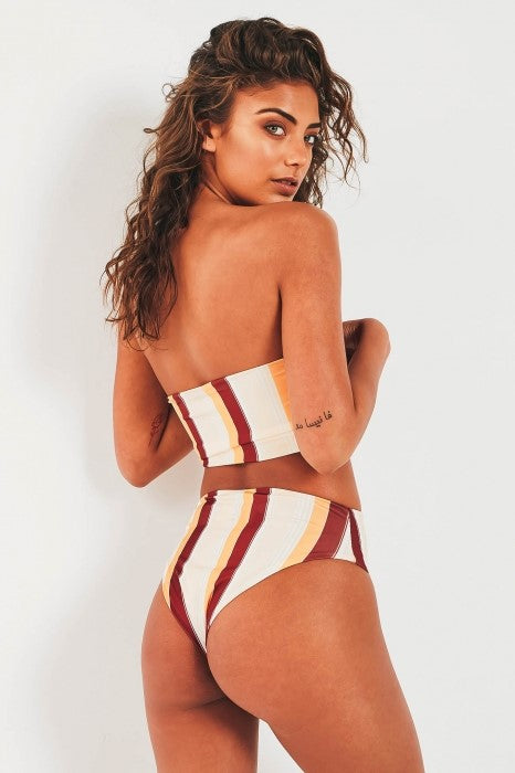San Marino Two Piece Bikini - Stripe