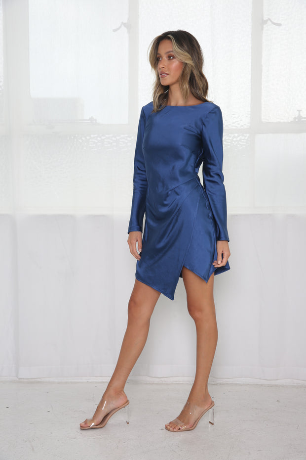 Sweet Sensations Dress - Navy