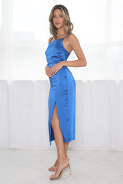 Veronica Dress - Cobalt Blue