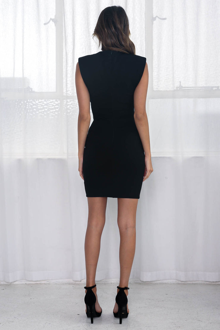 Valentine Dress - Black