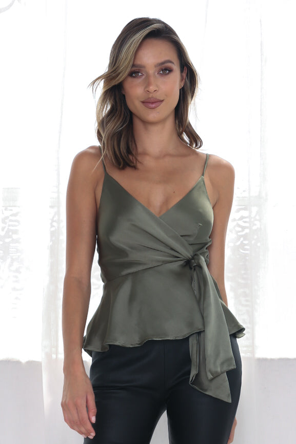 Arlo Top - Olive