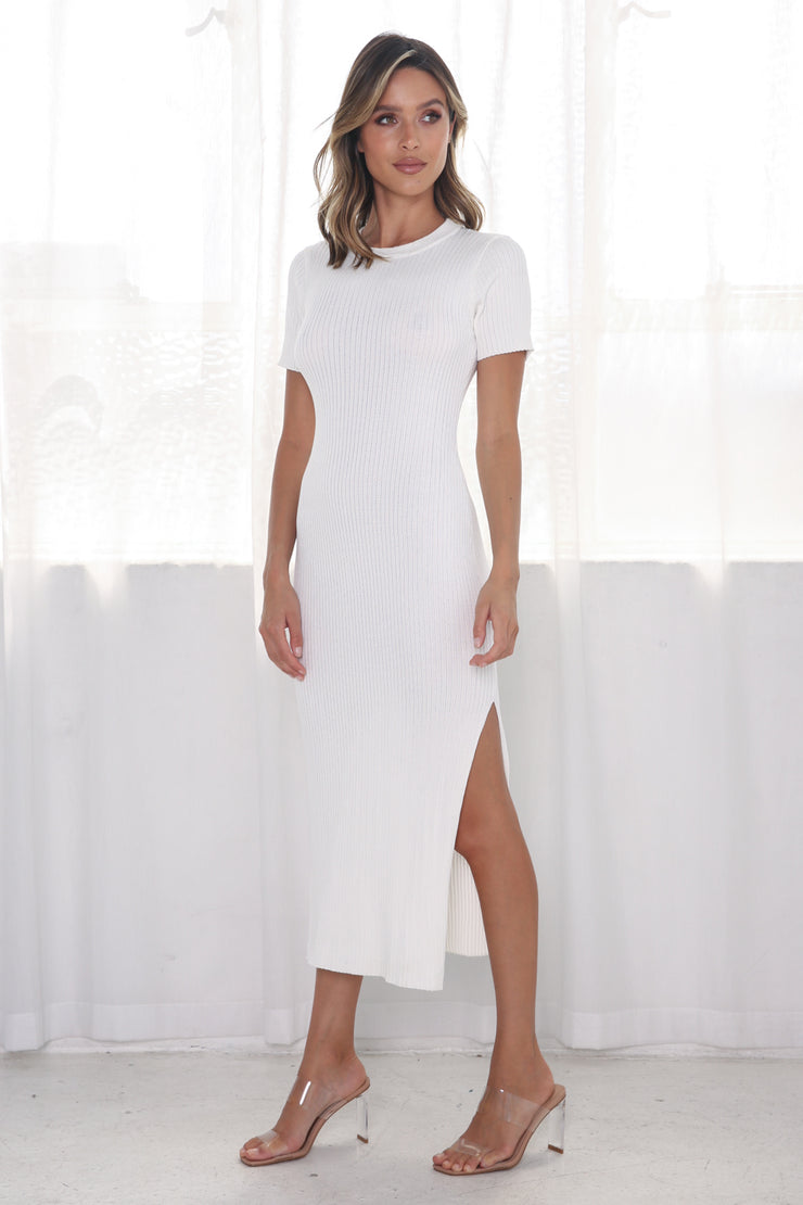 Harper Dress - White