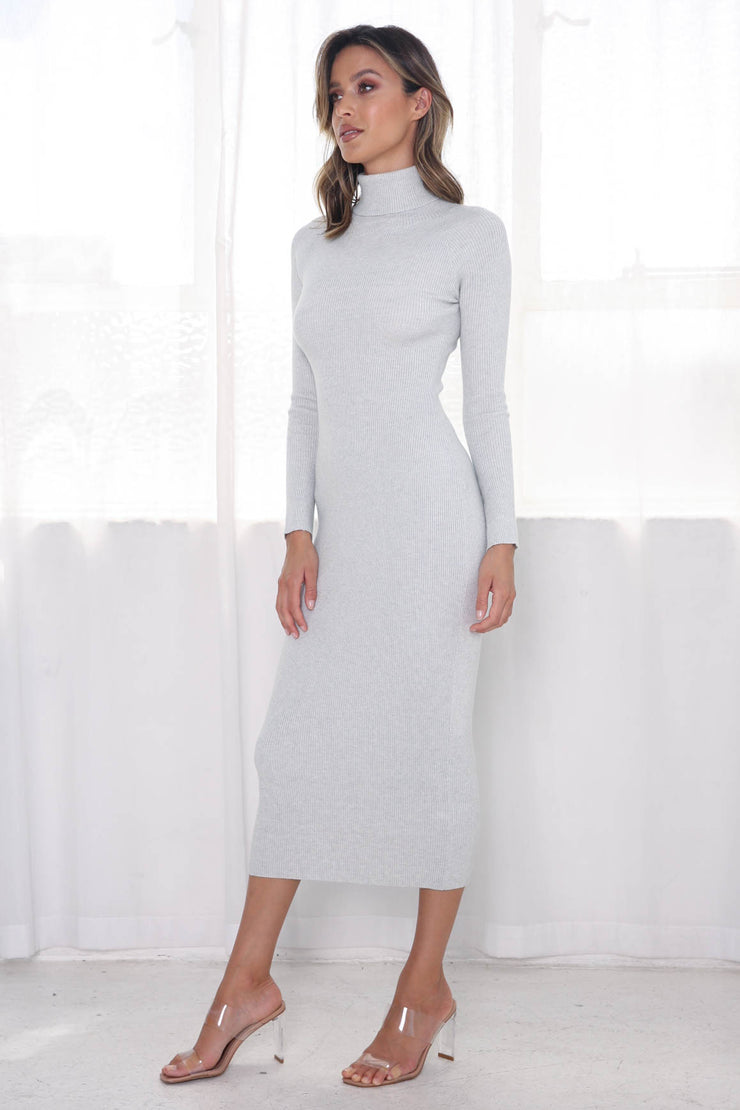 Anderson Dress - Grey