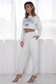 Michigan Two Piece Lounge Set - Grey