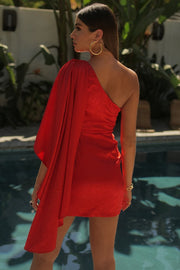 Hailey Dress - Red