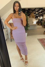 Sienna Midi Dress - Mauve