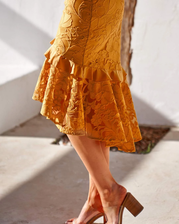 Abby Dress - Yellow - SHOPJAUS - JAUS