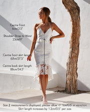 Abby Dress - White - SHOPJAUS - JAUS