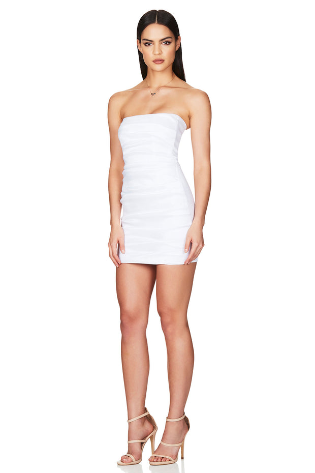 Nookie Adore 2Way Dress - White - SHOPJAUS - JAUS