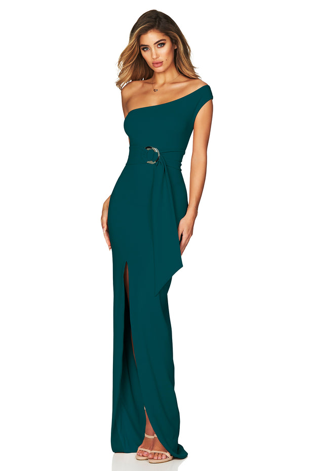 Nookie Alchemy Gown - Teal - SHOPJAUS - JAUS