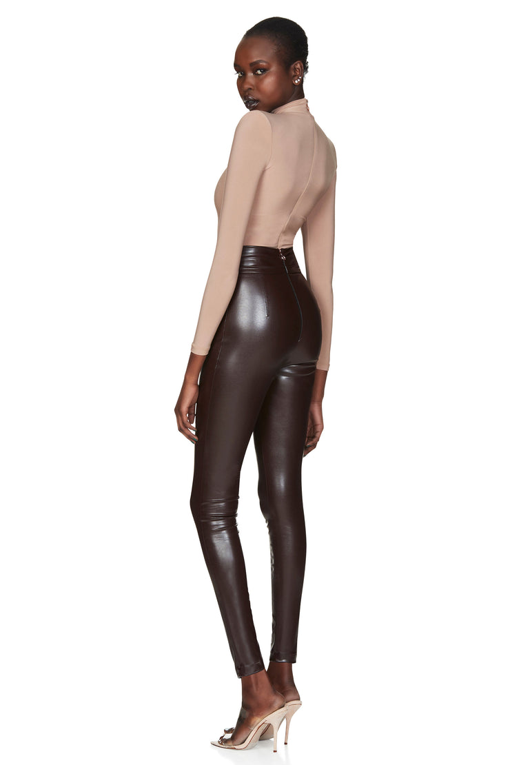 Nookie Viktoria Pants - Chocolate Matte