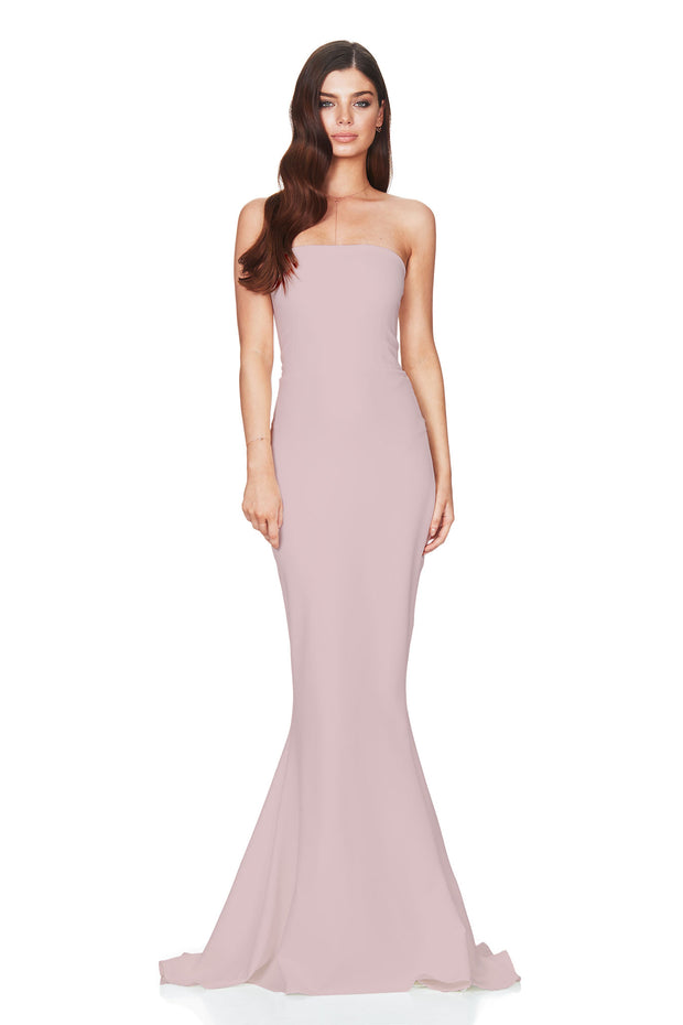 Nookie Angelina Gown - Dusty Pink - SHOPJAUS - JAUS