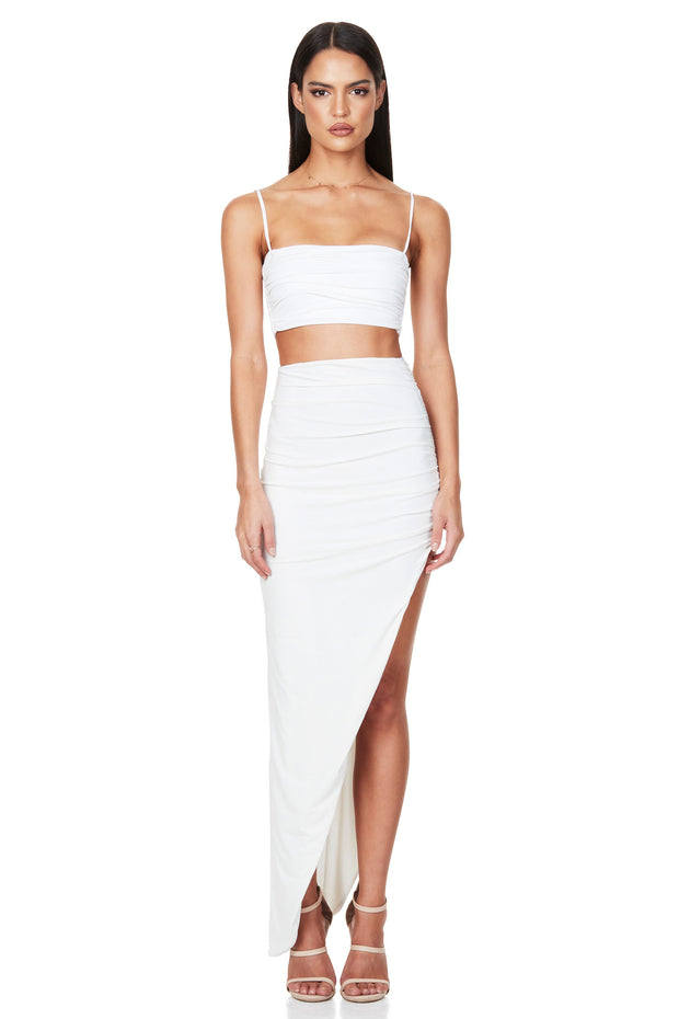 Nookie Aria Crop - White