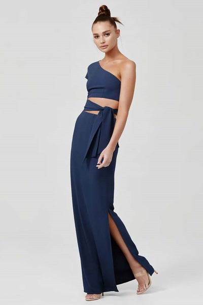 Arianna Dress - Navy (PREORDER) - SHOPJAUS - JAUS