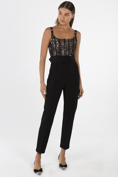 Misha Collection Ariella Pantsuit - Black - SHOPJAUS - JAUS