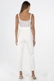Misha Collection Ariella Pantsuit - Ivory - SHOPJAUS - JAUS