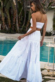 Leilani Maxi Skirt - White