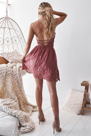 Aurelia Dress - Mauve - SHOPJAUS - JAUS