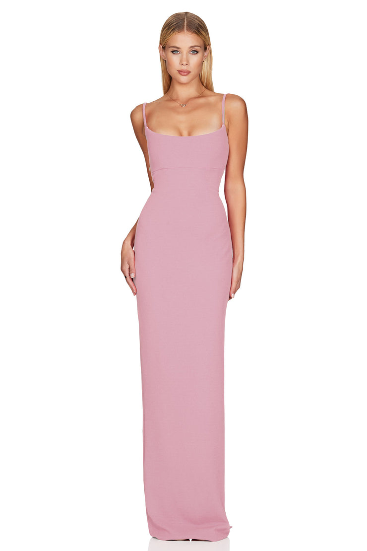 Nookie Bailey Gown - Antique Rose
