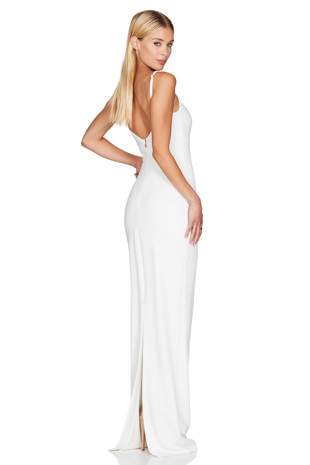Nookie Bailey Gown - Ivory - SHOPJAUS - JAUS