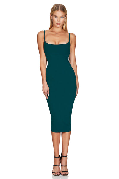 Nookie Bailey Midi Dress - Teal