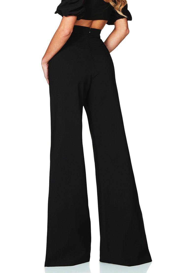 Nookie Belle High Waist Pant - Black - SHOPJAUS - JAUS