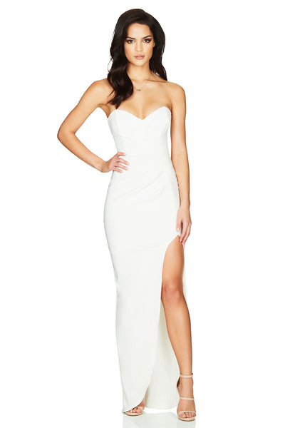 Nookie Bisous Gown - Ivory - SHOPJAUS - JAUS